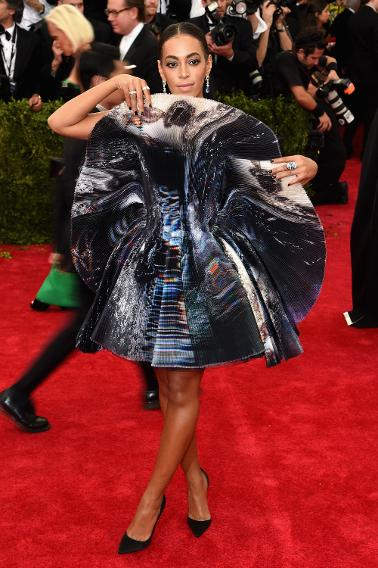 Solange Knowles in Giles.