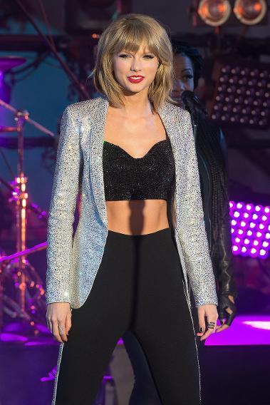 110 Best Images About S T R E T C H Your Legs On Pinterest: Taylor Swift Sparkles & Sofia Vergara Glows On New Year's Eve