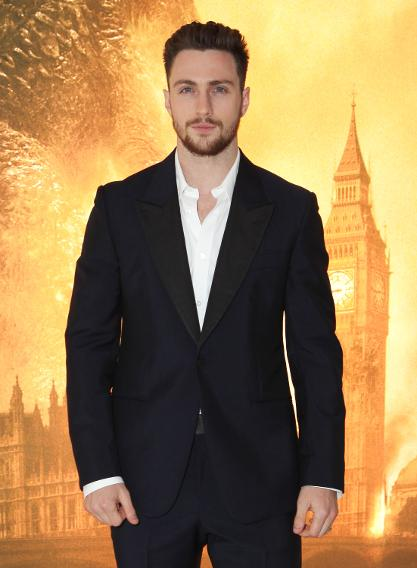 Aaron Taylor-Johnson wears Suit (Suit )