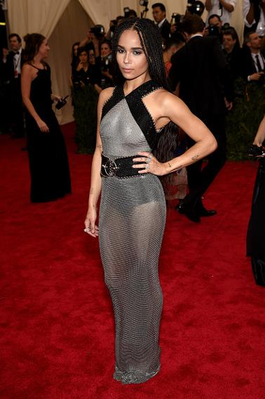 Zoe Kravitz in Alexander Wang.