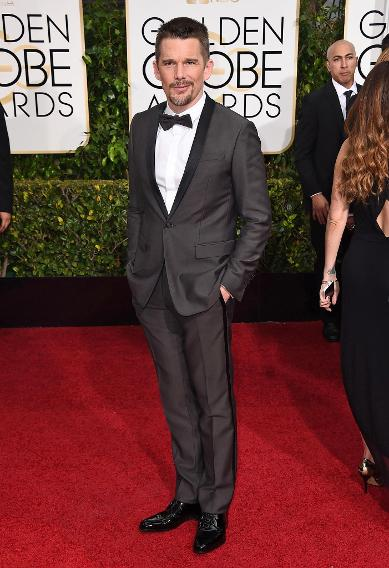 Ethan Hawke   My 8 Best Dressed At The 2015 Golden Globe Awards