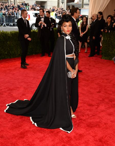Janelle Monae in custom H&M.