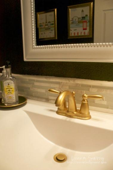 designer bathrooms pictures offer a bathroom shimmer add the gold touch 11420