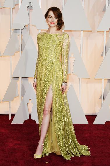 BEST: Emma Stone in Elie Saab