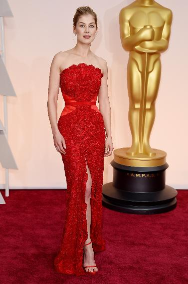 BEST: Rosamund Pike in custom Givenchy
