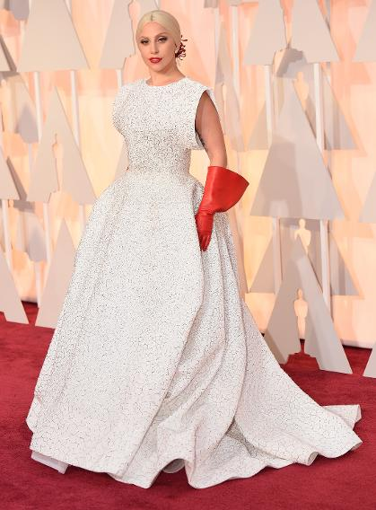 BEST: Lady Gaga in custom Azzedine Alaia