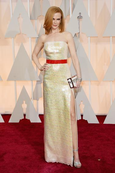 BEST: Nicole Kidman in custom Louis Vuitton