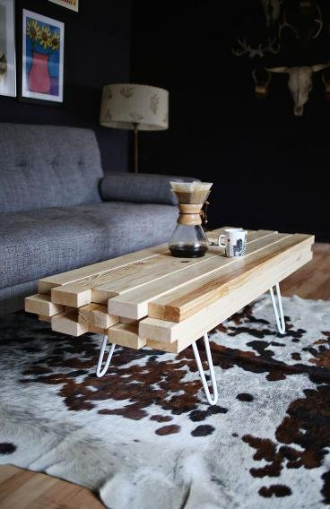 2x4 projects coffee table for Coffee tables 2x4