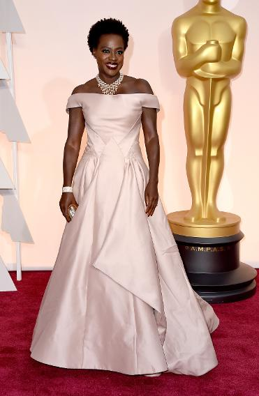 BEST: Viola Davis in Zac Posen