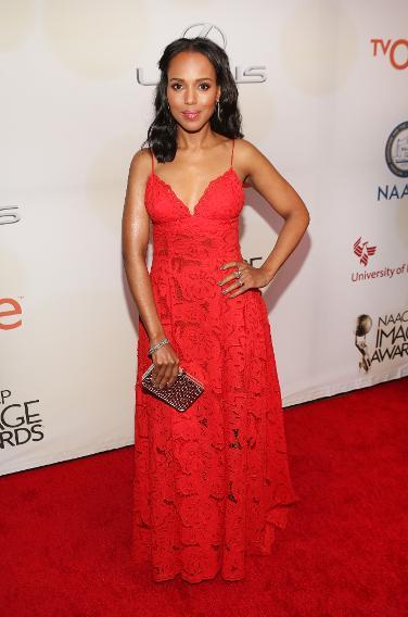 Kerry Washington at the 46th NAACP Annual Image Awards