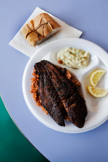 1980s: Blackened Fish
