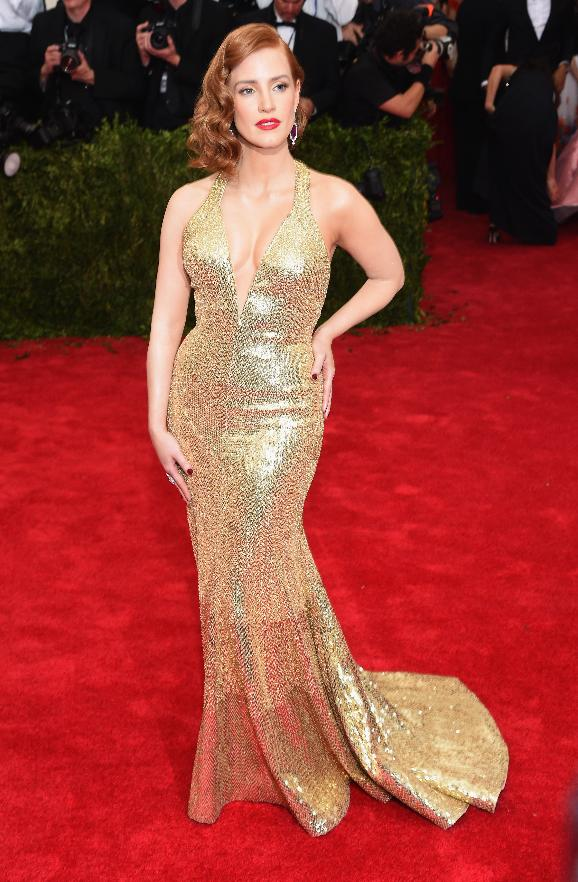 Jessica Chastain in Givenchy.