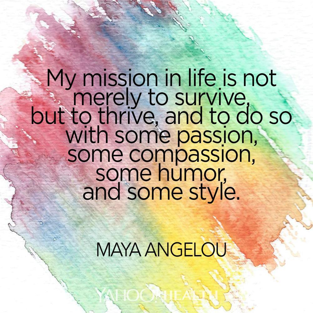 Maya Angelou Quotes And Sayings: Wellness Wisdom