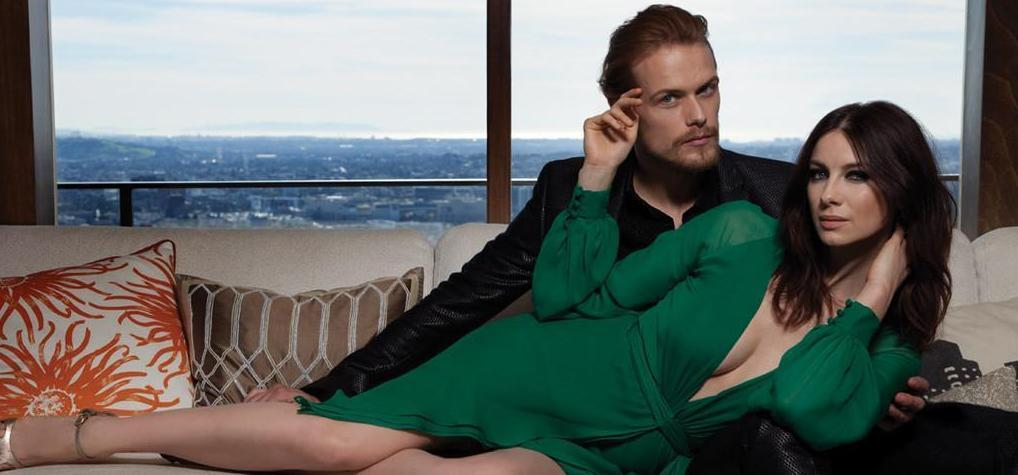 Inside Emmy Magazine S Cover Shoot With Outlander Stars