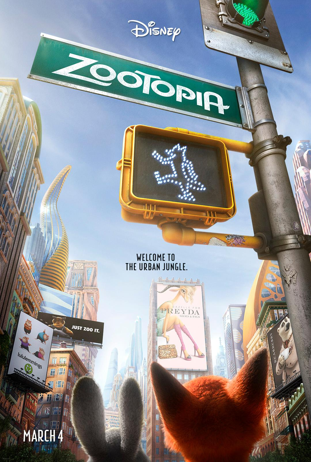 Can You Find Shakira's 'Zootopia' Character in This Exclusive Poster?