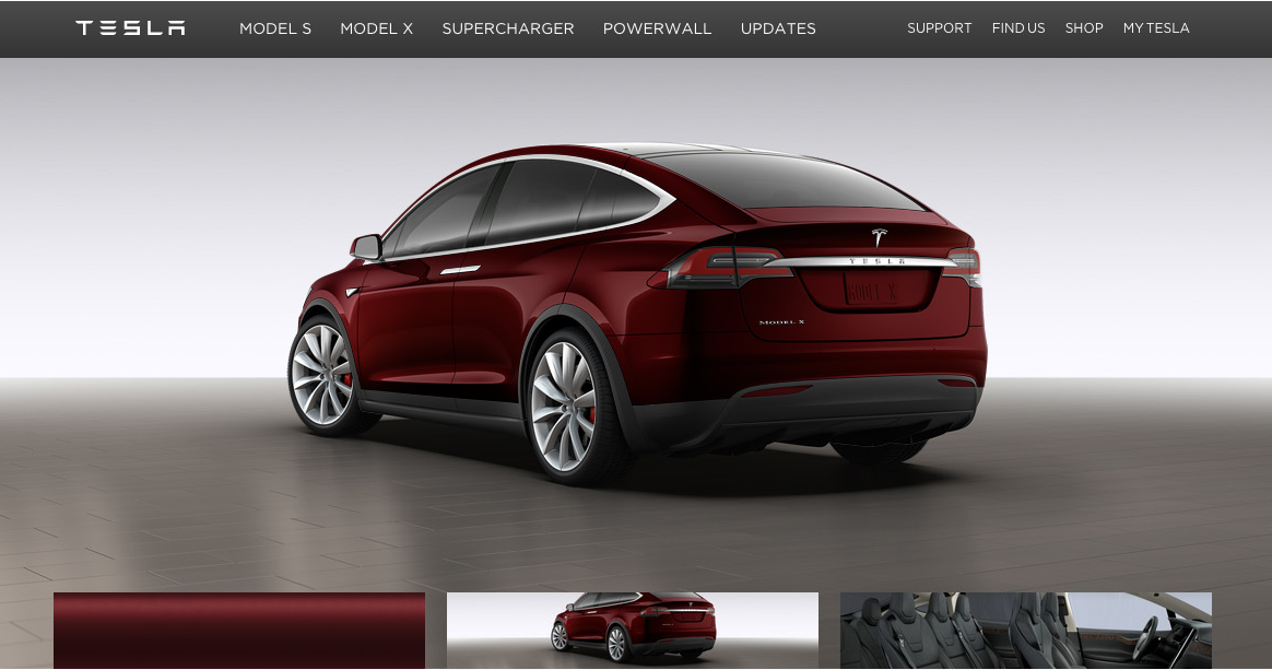 Tesla Lets First Model X Buyers Customize Their $132,000 SUVs