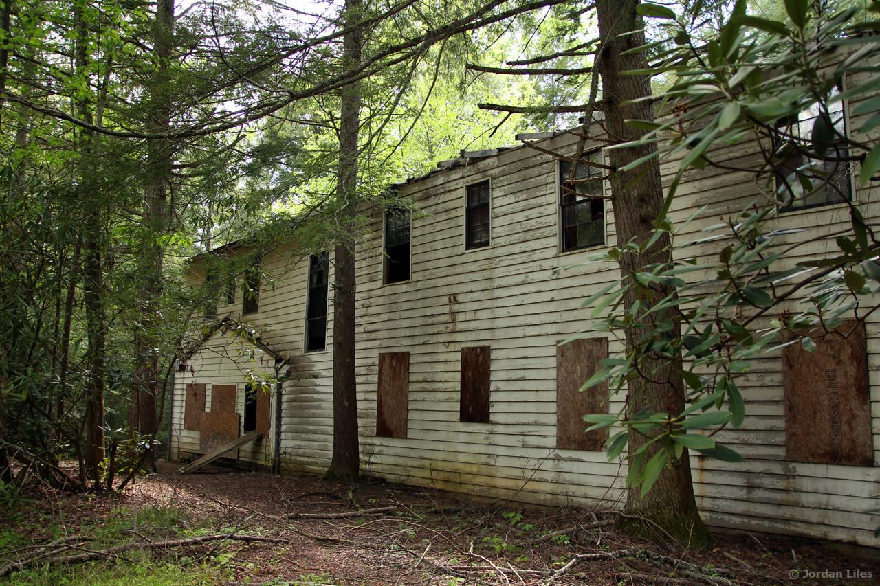 Remains Of The Abandoned Resort In Elkmont Tennessee