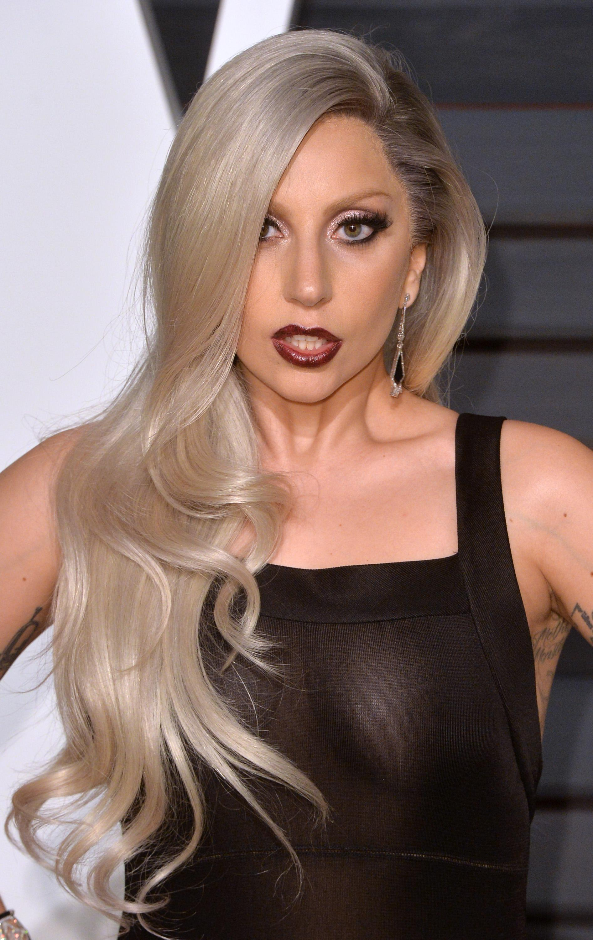 Lady Gaga at the Academy Awards, 2015 | Lady Gaga's Most ... Lady Gaga