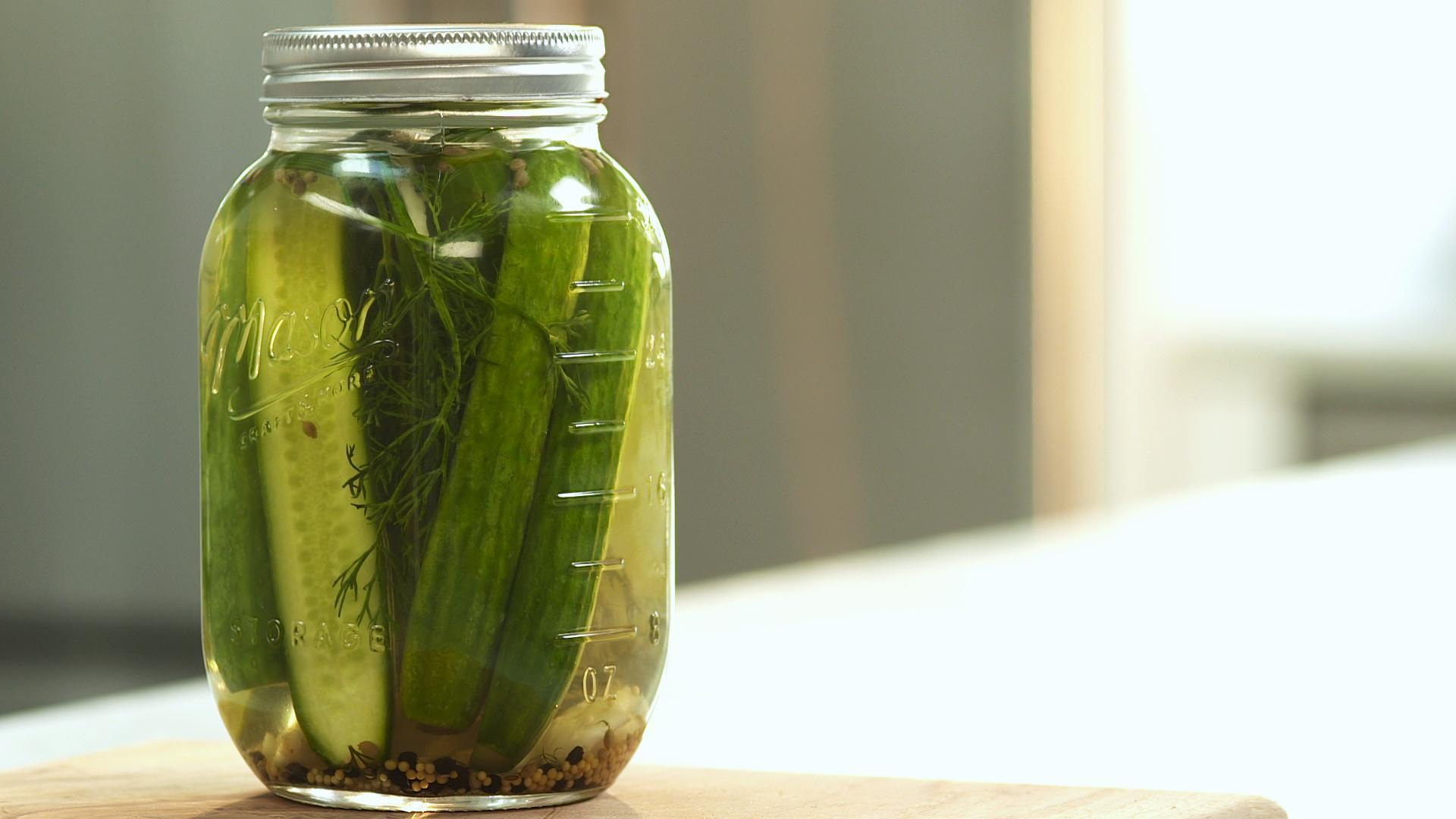 Easy, Homemade, Quick Pickle Recipe