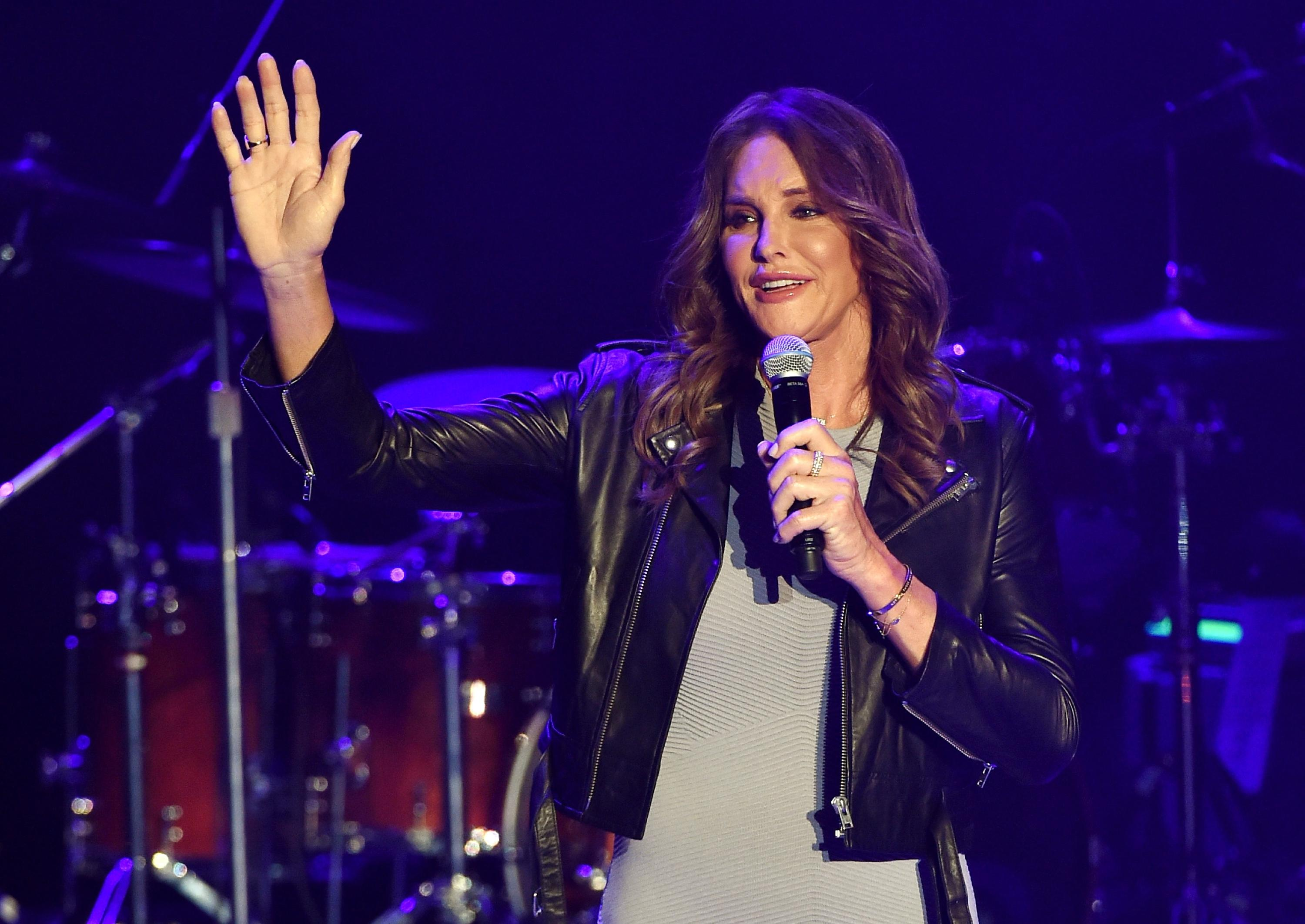 Caitlyn Jenner Surprises at Culture Club Concert, Receives Standing Ovation