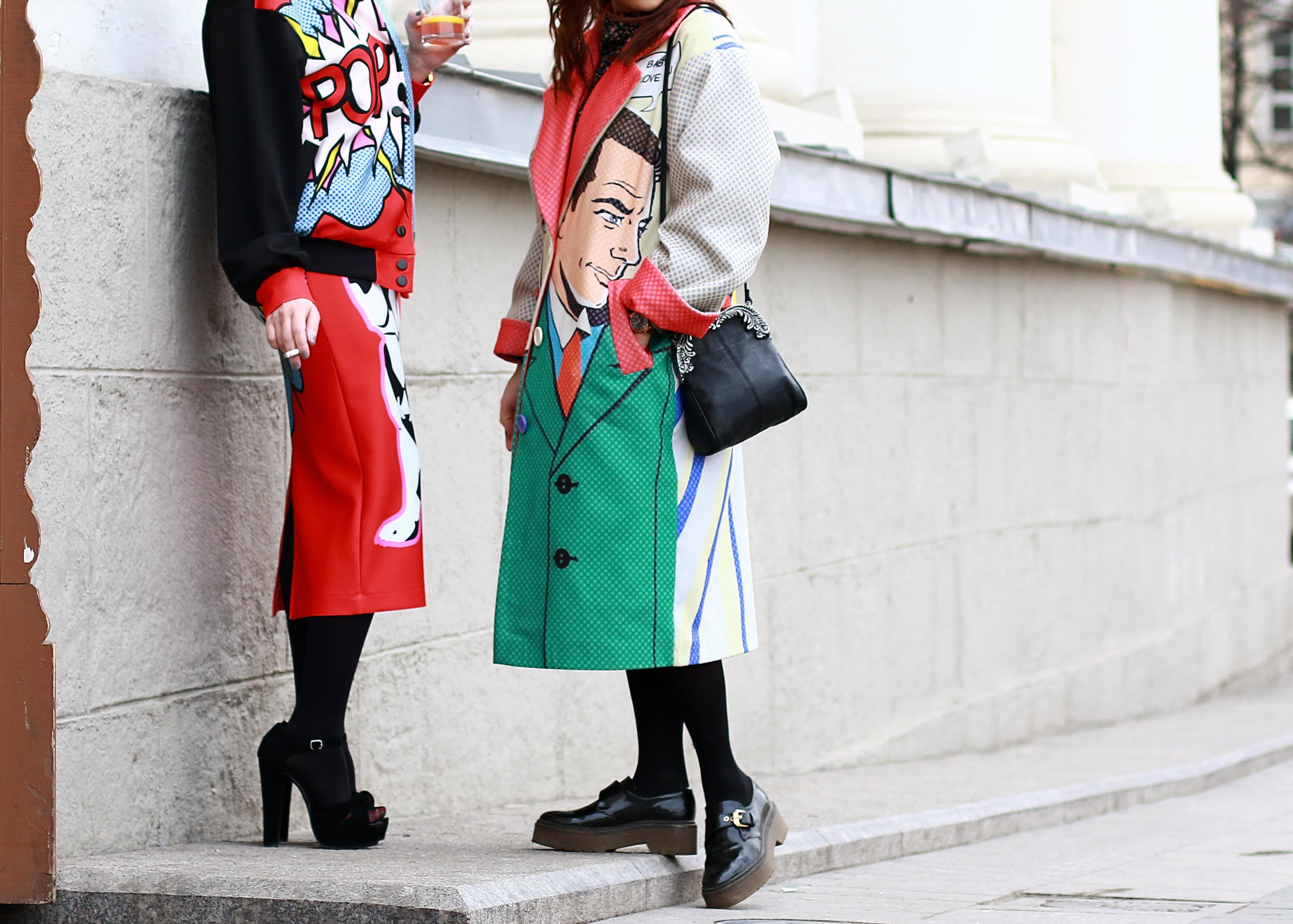 Pop The Best Of Moscow Fashion Week Street Style