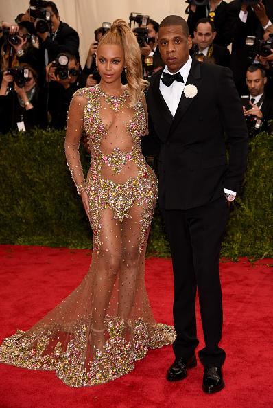 Beyoncé in custom Givenchy.