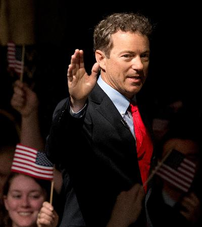 Senator Rand Paul joins the 2016 presidential campaign