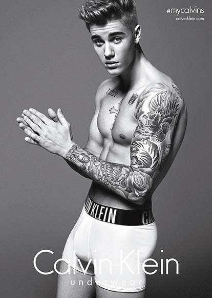Nothing Comes Between Justin Bieber & His Calvins