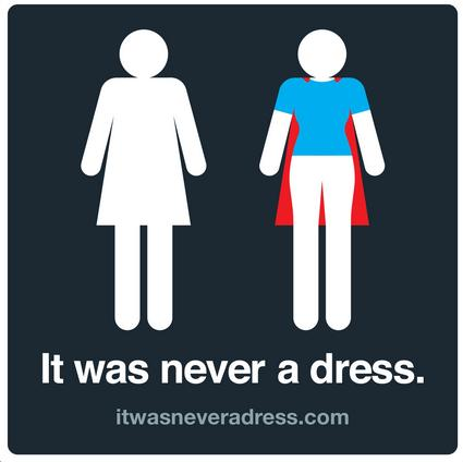 'It Was Never a Dress' Creatively Challenges Gender Sterotypes