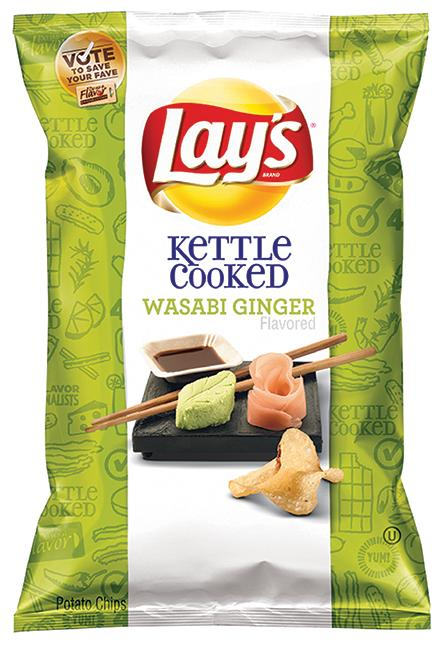 Wasabi Ginger Will Be the Next Lay's Potato Chip Flavor