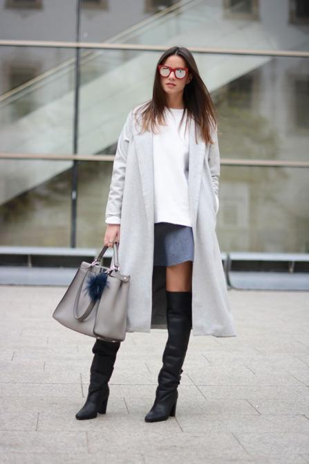 11 Ways to Wear Skirts With Boots This Winter