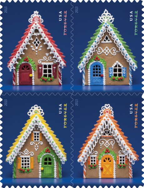The Woman Behind the Post Office's Gingerbread Stamps