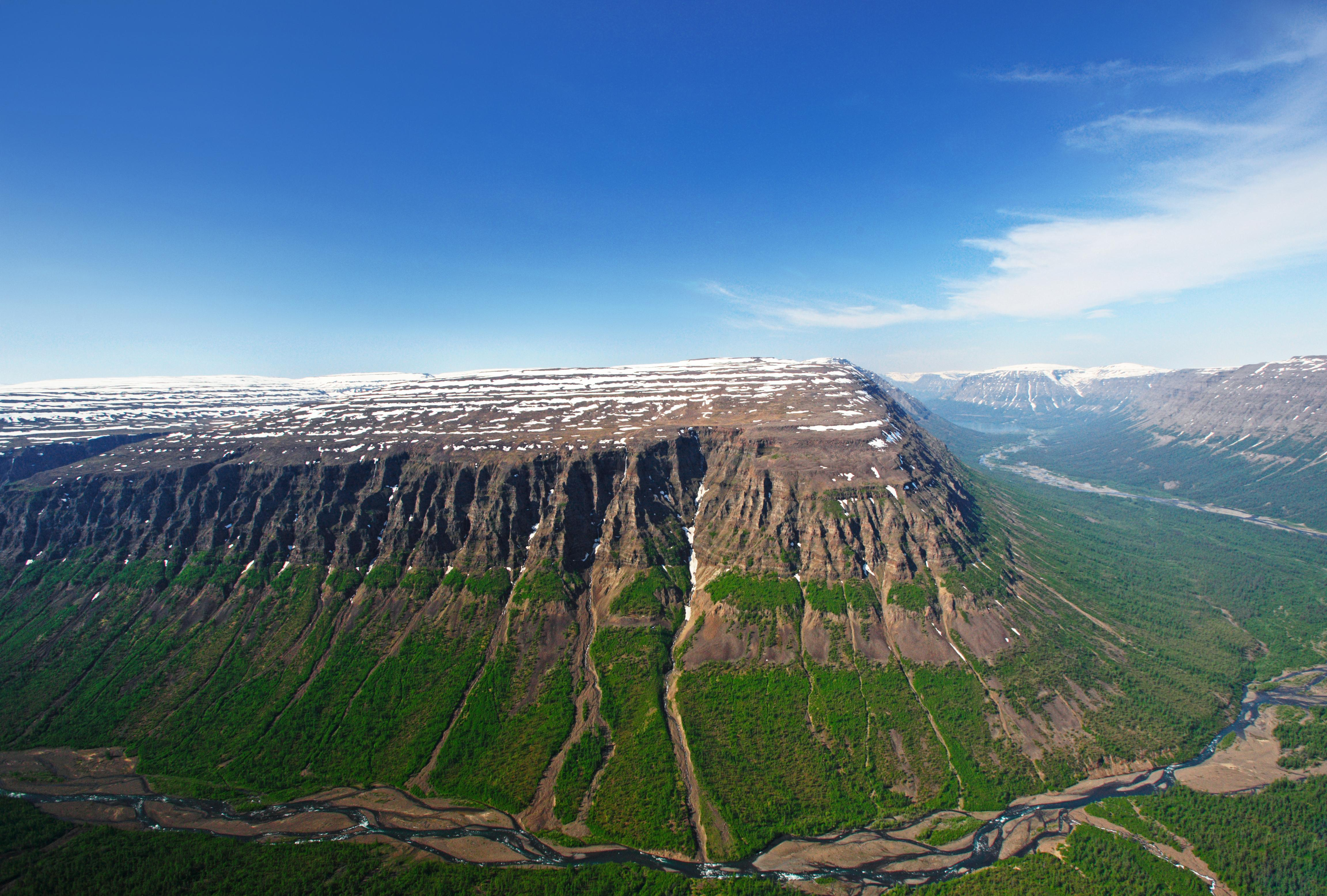 A Siberian Plateau