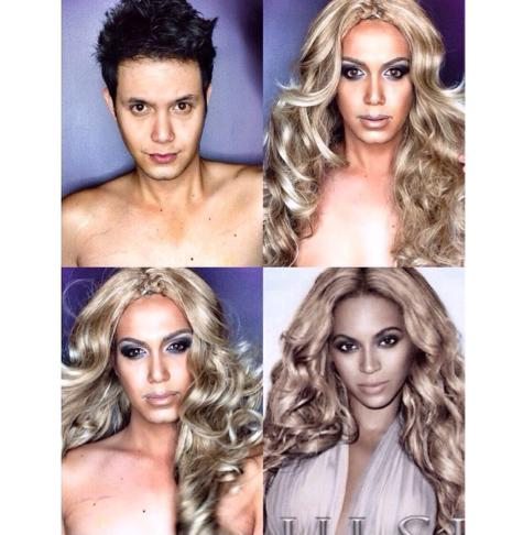 PHOTOS: Dad Transforms Himself Into Celebrities Using Makeup And Wigs 2