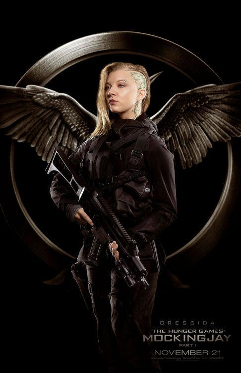 See Natalie Dormer's 'Hunger Games' Head Tattoo and Several Other New Looks in These 'Mockingjay' Posters