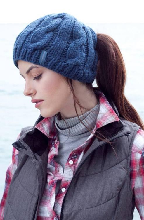 Knitting Pattern Ponytail Hat : First-Timers Knitting Fail Becomes an Accidental Hit