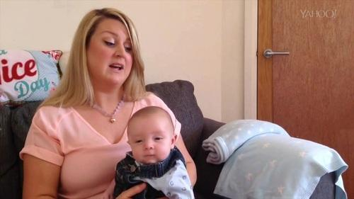 Mom of 7-Week-Old Baby Who Says 'Hello' tells Yahoo Parenting: 'I'm Glad I Got It on Video'