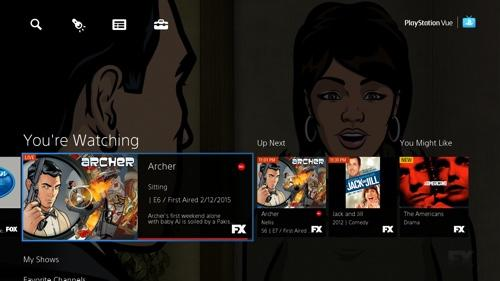 Sony's PlayStation Vue Brings Streaming Live TV to Your PS4 Without a Cable Subscription