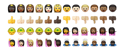 Apple Just Showed Off Its New, Diverse Emoji for the First Time