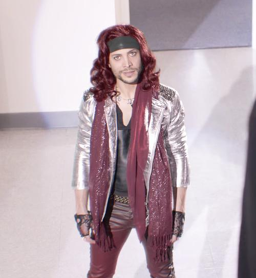 Justin Guarini Rocks Out as Metal Man 'Lil' Sweet' in Hilarious Dr Pepper Ad