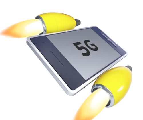 به زودی شاهد اینترنت 5G بر روی تلفن های هوشمند خواهیم بود.