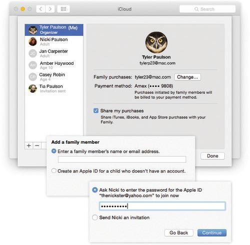 How to Set Up Apple Family Sharing