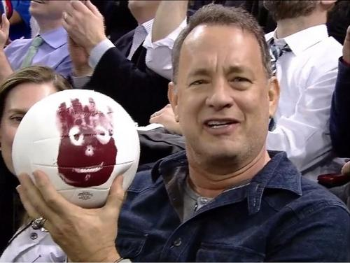 Tom Hanks Was Reunited With Wilson From 'Cast Away'
