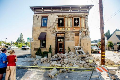 Napa Businesses Take a Hit from Quake But Expect Quick Recovery