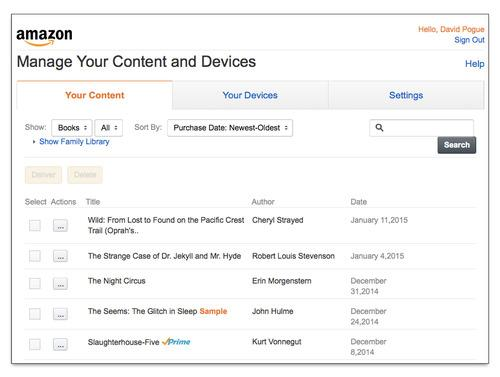 How to Set Up Amazon's Family Library