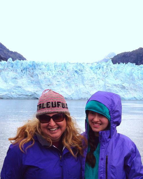 Glacier ahead this mother daughter duo cruises in the for Mother daughter weekend getaways