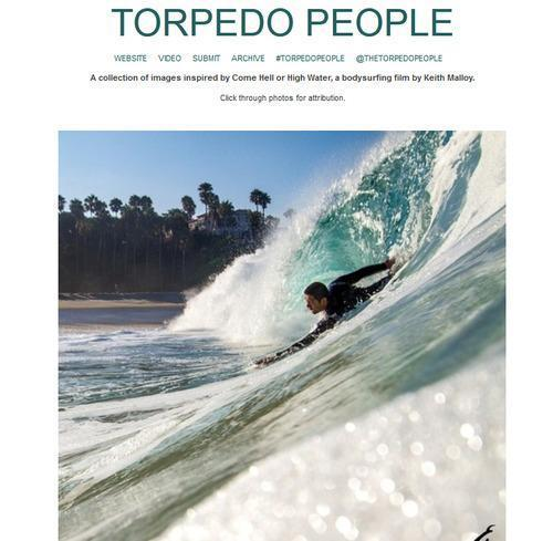 Torpedo People Shows Off Beauty of Body Surfing