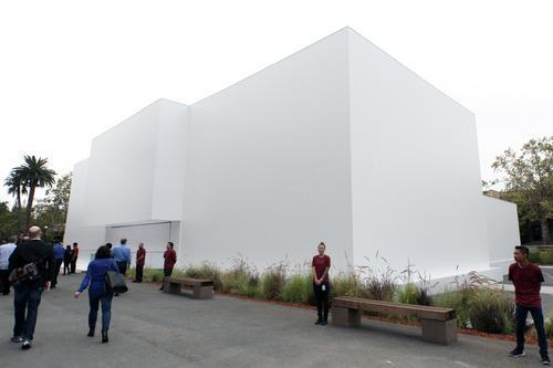 Apple's temporary showroom