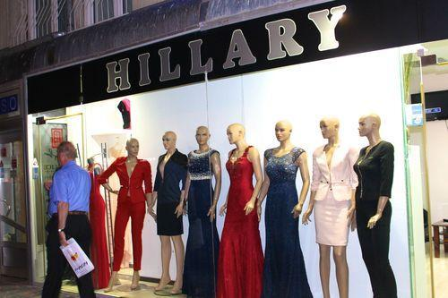 Discovery: A Clothing Shop Inspired by Hillary Clinton in Kosovo (of All Places)