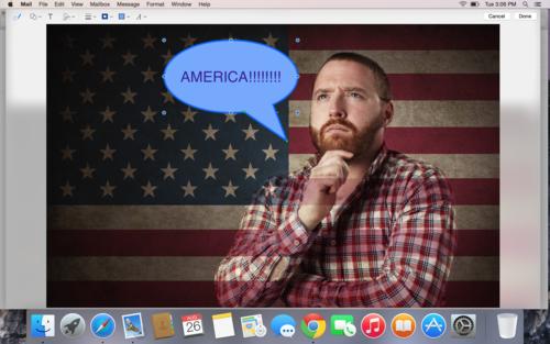OS X Yosemite image editing